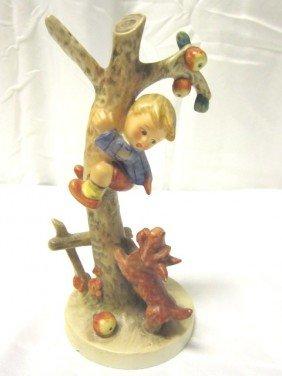 Culprits- Boy Up Apple Tree Hummel Figurine
