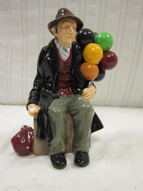 "76: Royal Doulton ""The Balloon Man"" Figurine"