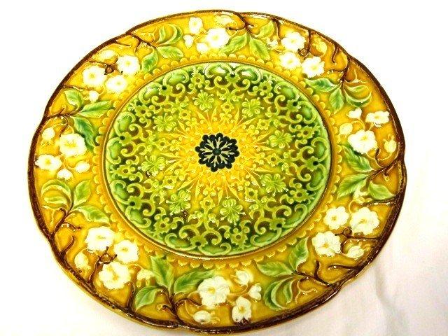 6: Majolica 8in  Desert Plate