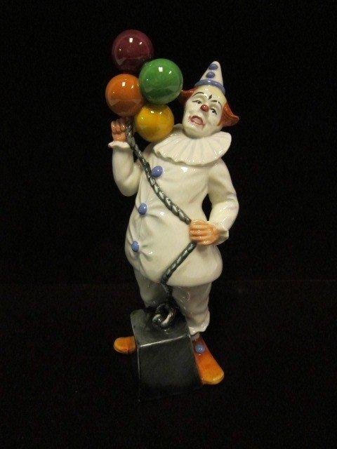 15: Royal Doulton Clown Figurine