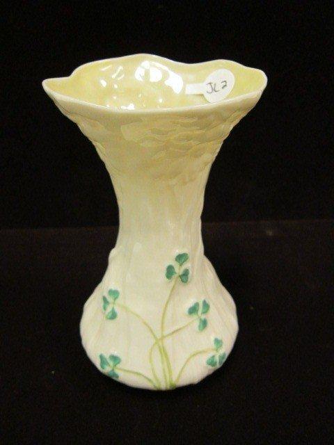 """22: 5"""" Belleek Vase"""