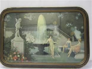"""Love & Beauty"" garden scene"