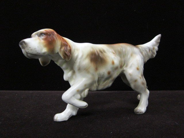 7: Lefton spaniel dog figurine