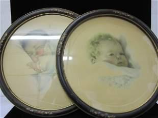 2 Bessie Pease Gutman prints