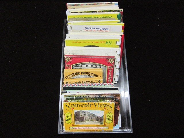 23: Souvenier cards lot