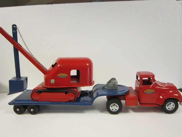 175: Tonka Low Boy Truck