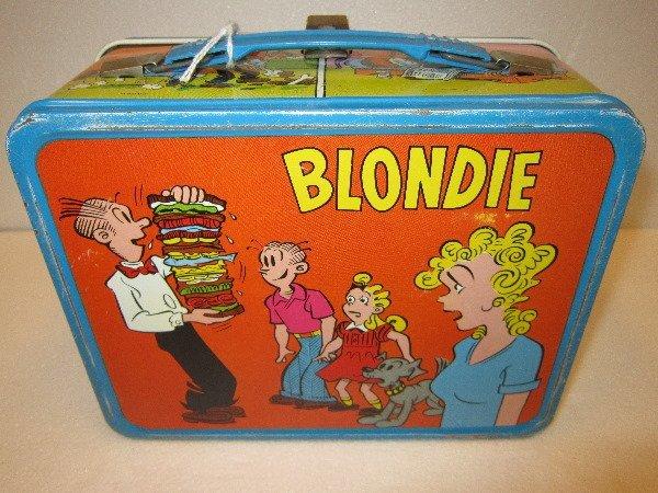 8: Blondie Lunch Box