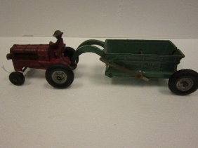 Arcade Tractor And Dumptrailer