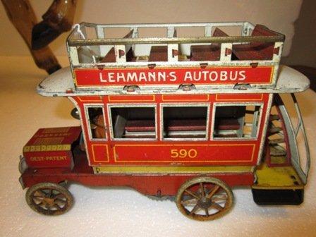 68: German  Lehmanns Aurobus Tin