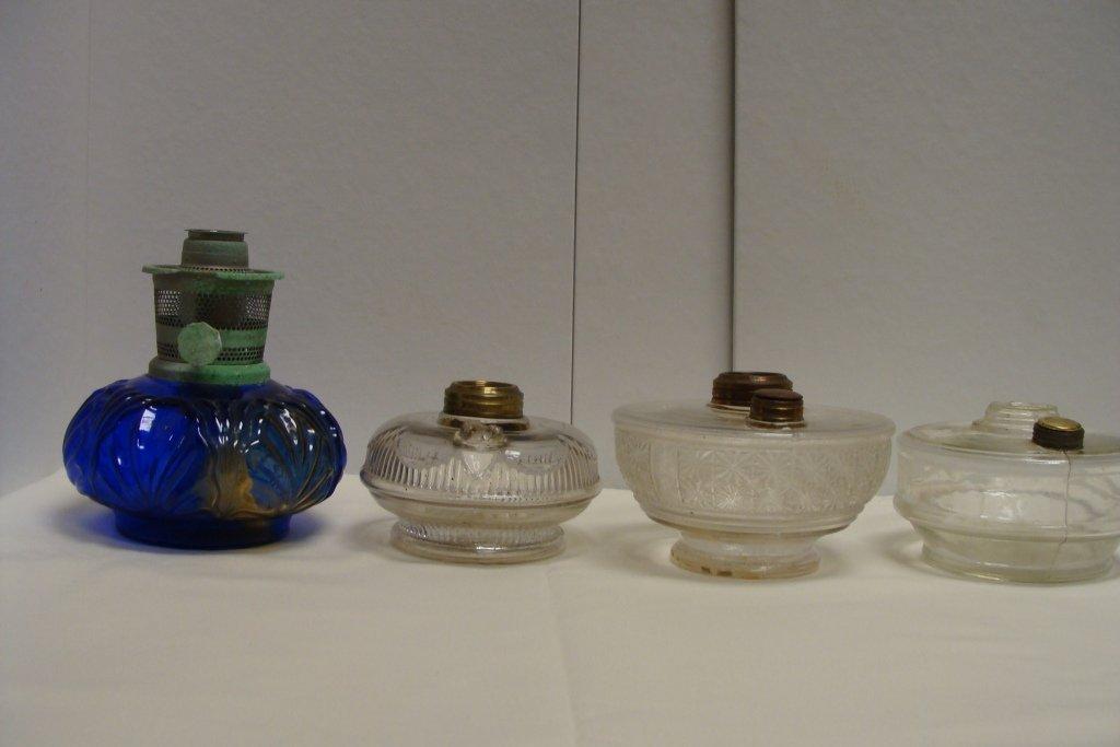 4 Aladdin Lamp Bases
