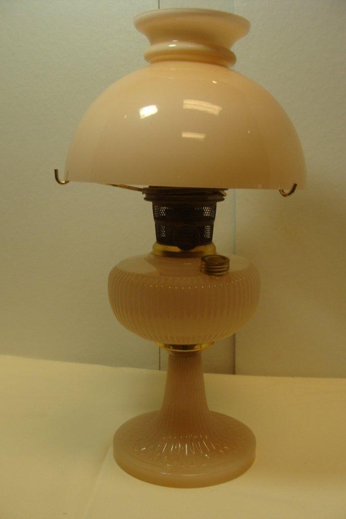 Aladdin Repro Vertique Rose Moonstone Lamp