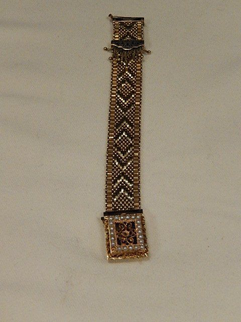 Women's 14K Gold Hamilton Watch