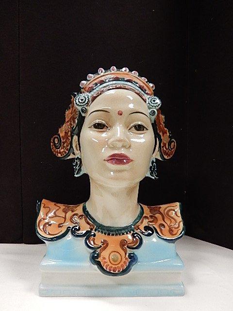 Goldscheider Bali Head by Helen Bishoff