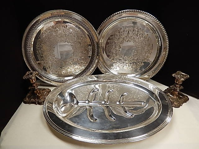 5 PC. Silver Plate Group