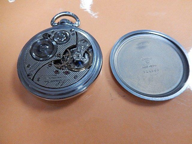 1915 Railroad Pocket Watch - 3