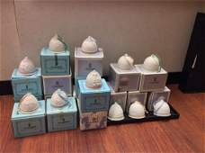 Lot of 16 Retired Lladro Bells with Original Boxes