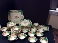 Myotts Royal Crown Staffordshire Luncheon Set- Service
