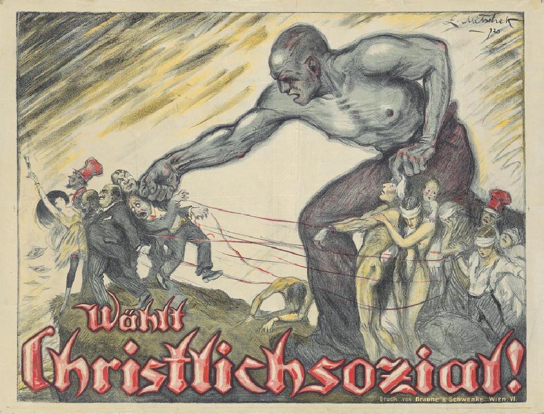 Wählt Christlichsozial! 1920.