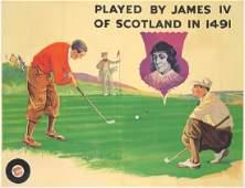 Golf  James IV Scotland ca 1937
