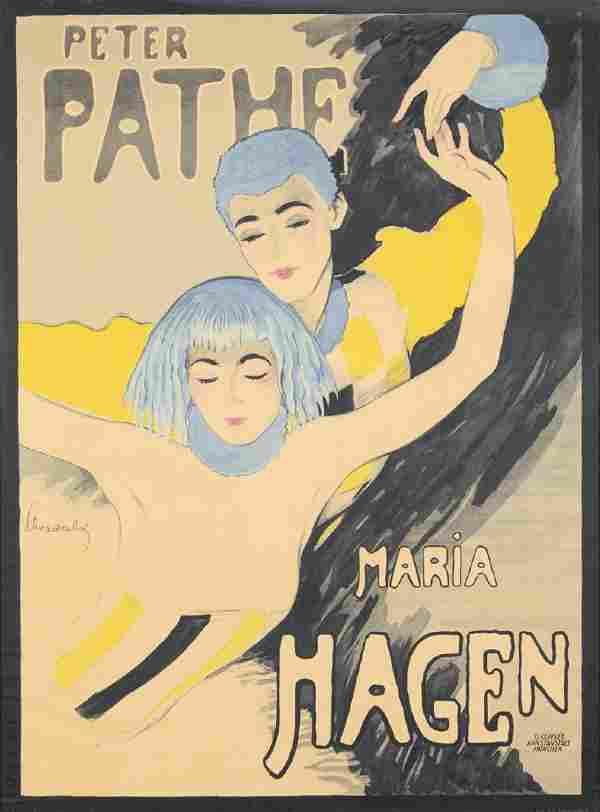 Peter Pathe / Maria Hagen. 1918.