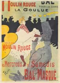 Moulin Rouge / La Goulue. 1891.