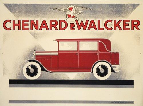 1: Chenard & Walcker.