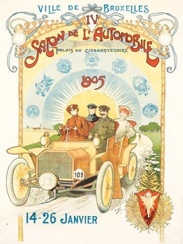 14: Salon de l'Automobile/Ville de Bruxelles.