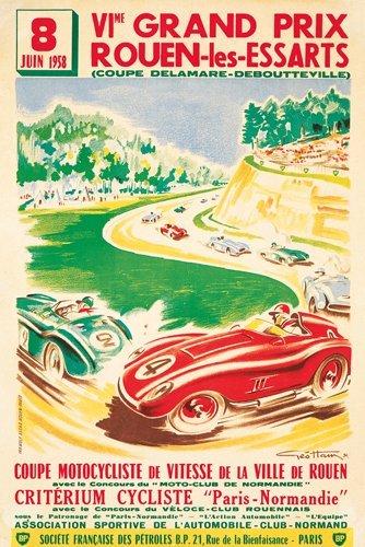 19: VIme Grand Prix Rouen-les-Essarts.