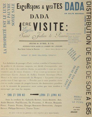 2: Excursions & Visites Dada / Premiere Visite. 1921