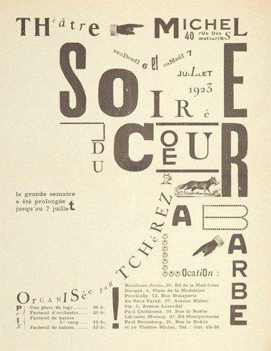 3: Soirée du Coeur à Barbe. 1923