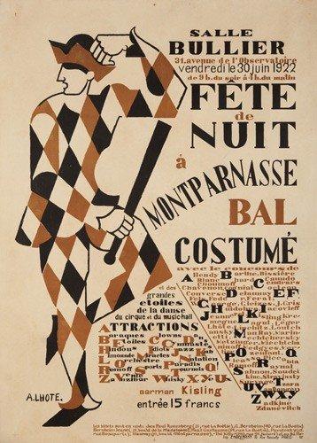 4: Salle Bullier / Fete du Nuit à Montparnasse Bal Cost