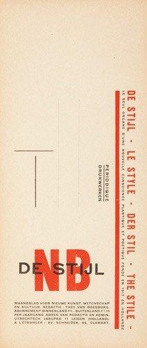 5: De Stijl. ca. 1921