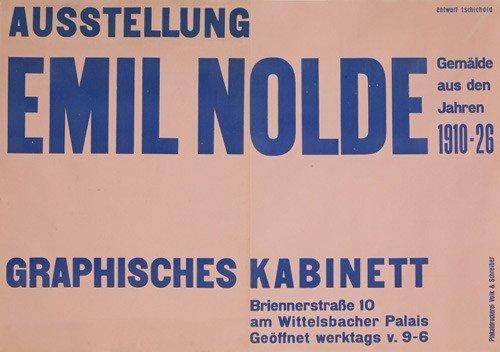 6: Ausstellung Emil Nolde. 1928