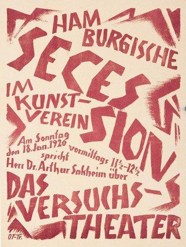 7: Hamburgische Secession. 1920