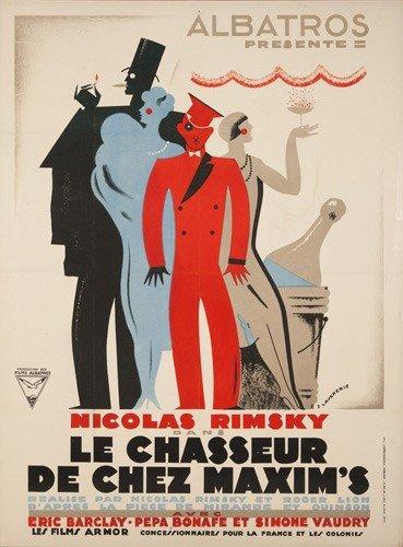 18: Le Chasseur de Chez Maxim's. 1927