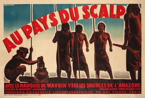 23: Au Pays du Scalp. 1931