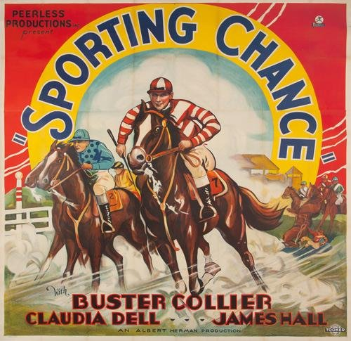 24: Sporting Chance. 1931