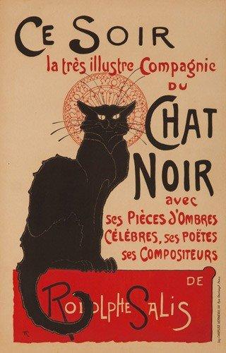 496: Chat Noir / Ce soir. 1896