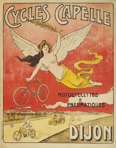 6: Cycles Capelle / Dijon. 1905