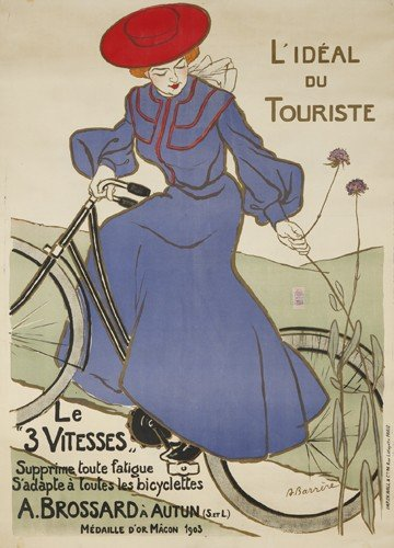 """10: A. Brossard / Le """"3 Vitesses."""". 1904"""