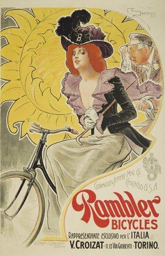 12: Rambler Bicycles. ca. 1891
