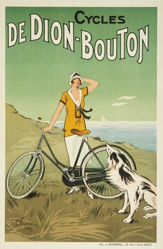 18: Cycles de Dion-Bouton. 1925