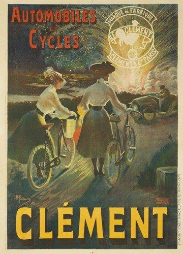 19: Automobiles et Cycles Clément. 1903