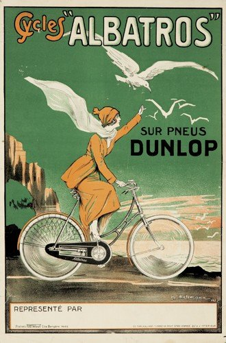"""21: Cycles """"Albatros."""".1922"""
