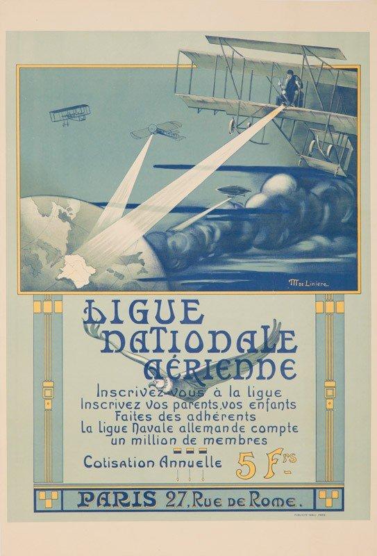 1: Ligue Nationale Aérienne. 1908