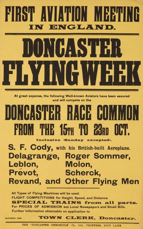 2: Doncaster Flying Week. 1909