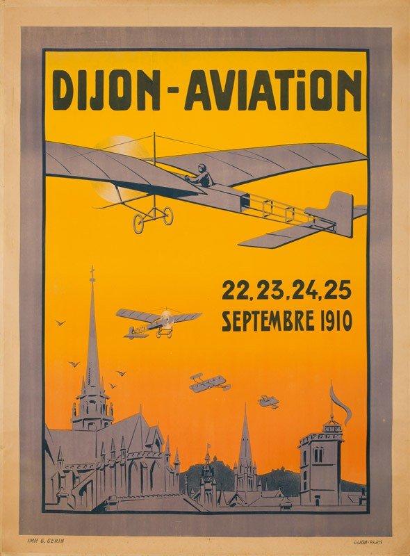 4: Dijon / Aviation. 1910