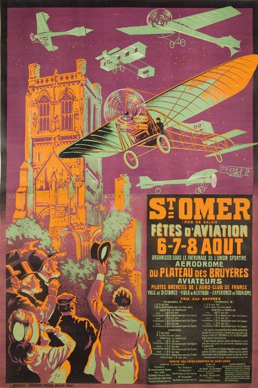 5: Saint-Omer / Fêtes d'Aviation.  1910