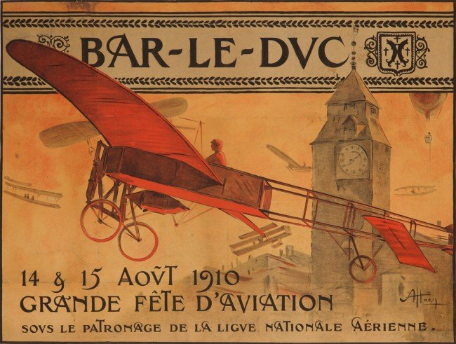 7: Bar-le-Duc / Grand Fête d'Aviation. 1910