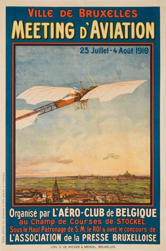 8: Meeting d'Aviation / Bruxelles. 1910